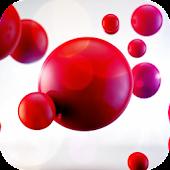 Red bubbles Live Wallpaper