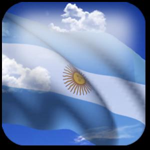 3D Argentina Flag +