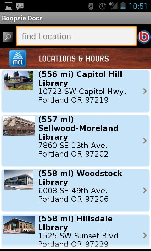 Multnomah County Library - screenshot