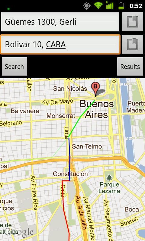 Viaja Fácil- screenshot