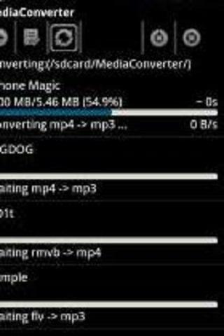 ffmpeg codec arm v6- screenshot