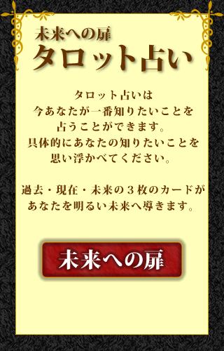 タロット占い★未来への扉