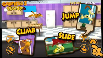 Screenshot of Garfield's Escape
