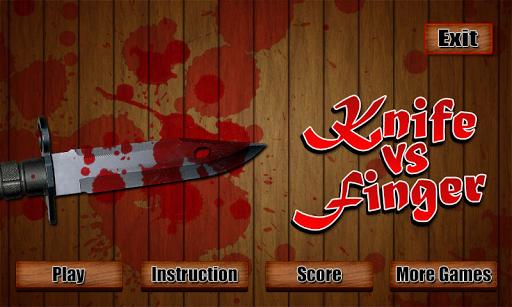Knife vs Finger