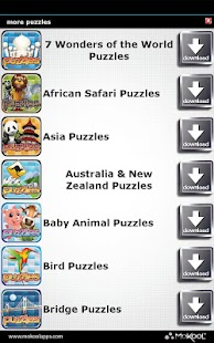 Australia Puzzle - New Zealand - screenshot thumbnail