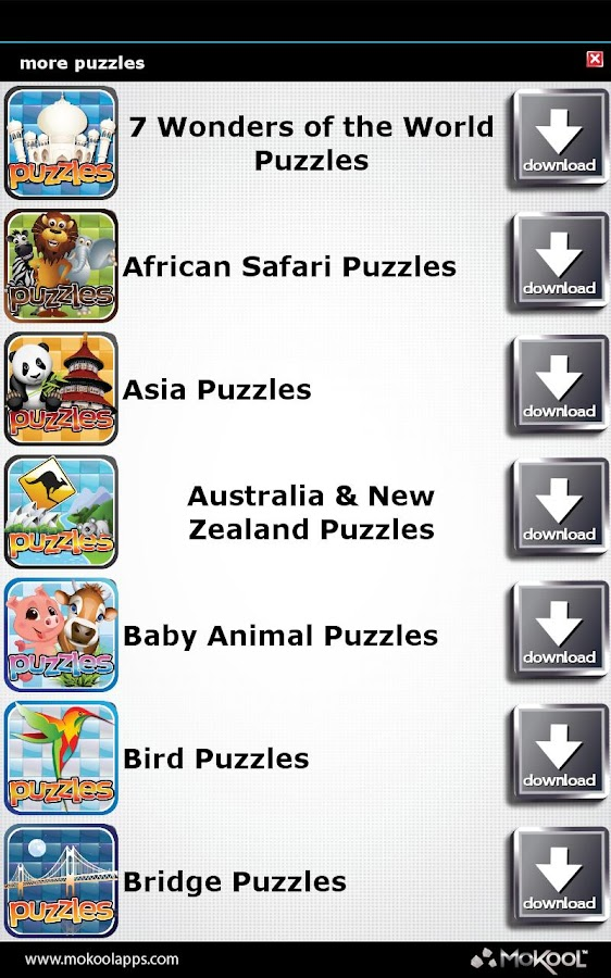 Australia Puzzle - New Zealand - screenshot