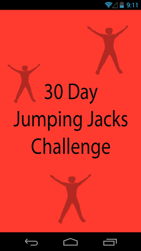 30 Day Jumping Jacks Challenge