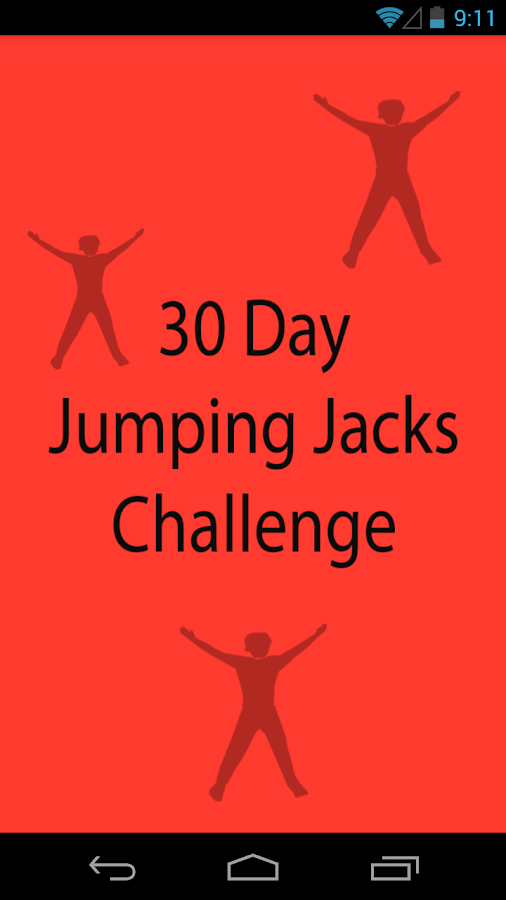 30 Day Jumping Jacks Challenge - Android Apps on Google Play