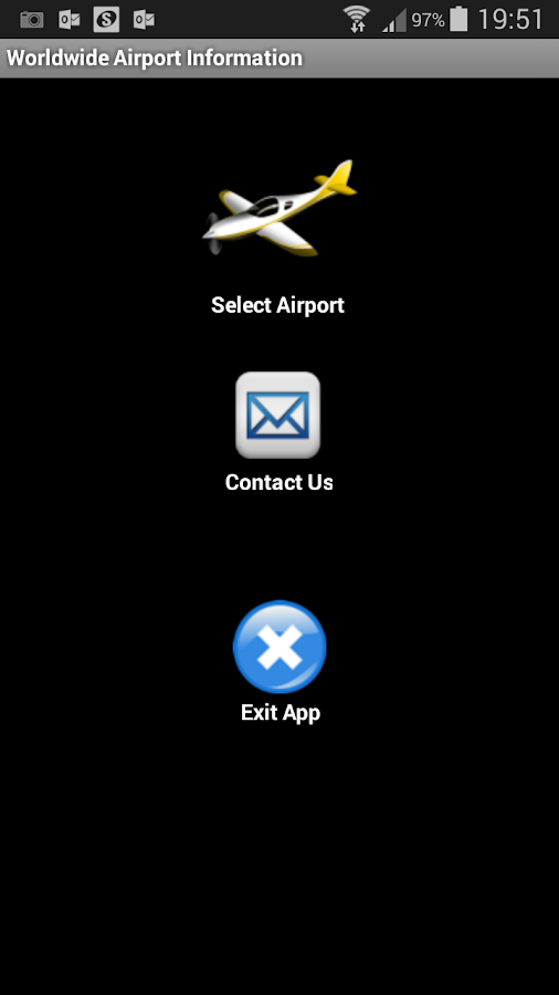 Worldwide Airport Information- screenshot