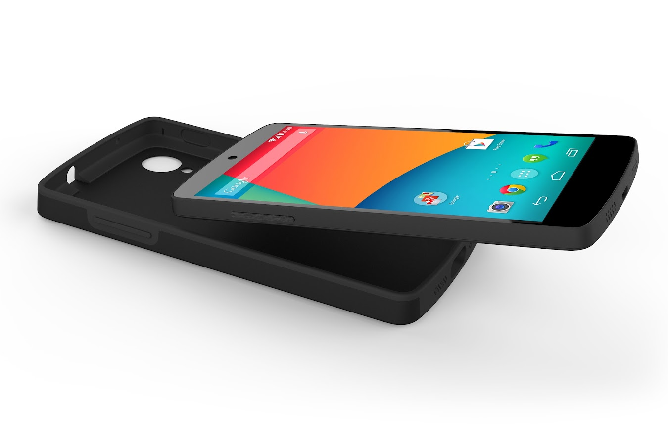 Nexus 5 Bumper Case (Black) - screenshot