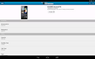 Screenshot of The Phone Database