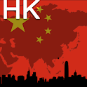 Hong Kong Map logo