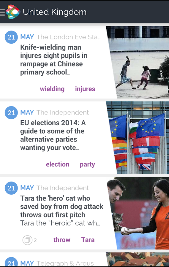NEWSCRON – ALL NEWS IN ONE APP - screenshot