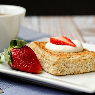 Pan-Seared Oatmeal with Fresh Fruit and Yogurt Recipe
