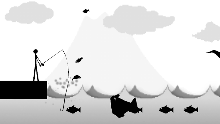 Fishing Stickman[Fishing game] - screenshot
