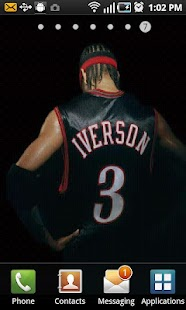 Allen Iverson Live Wallpaper - screenshot thumbnail
