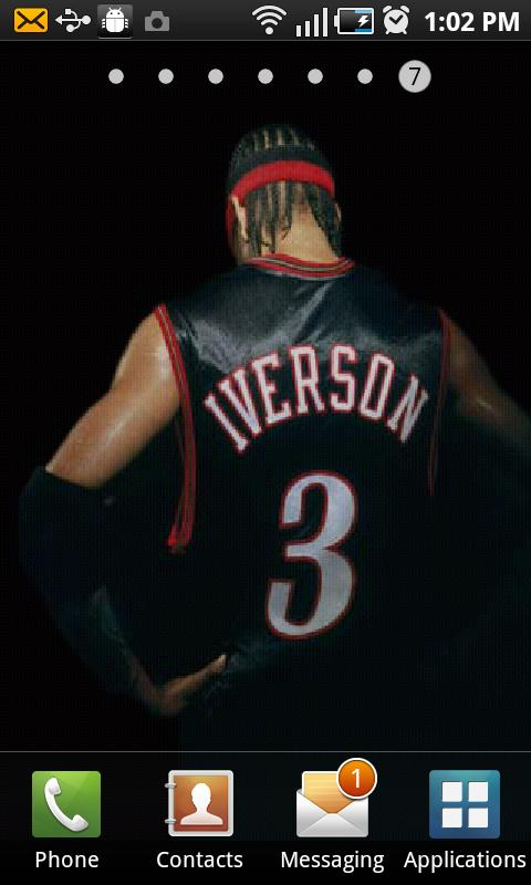 Allen Iverson Live Wallpaper - screenshot