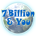 7 Billion and You in the world logo