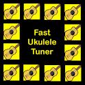 Fast Ukulele Tuner logo