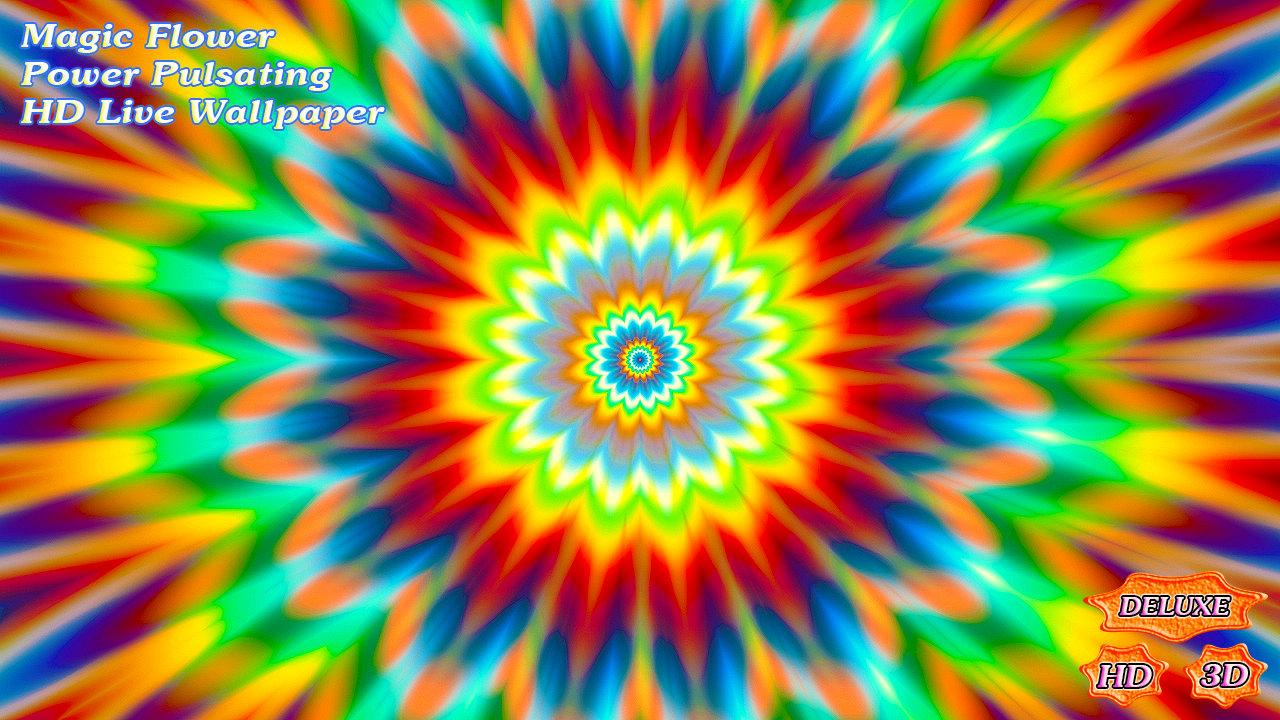 Magic Flower Power Pulsating- screenshot