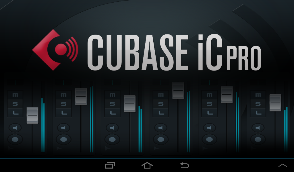 Cubase iC Pro - screenshot