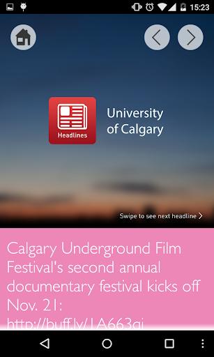 Headlines - U of Calgary
