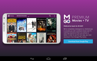 Screenshot of M-GO Legacy