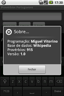 Provérbios Portugueses - screenshot thumbnail