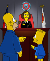 Simpsons legal reference