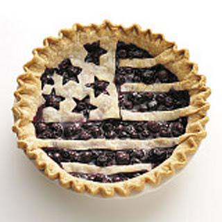 American Flag Berry Pie Recipe