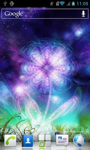 Glittering Flower Live