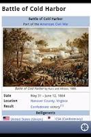 Screenshot of American Civil War Daily Lite