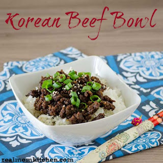 Korean Beef Bowl.