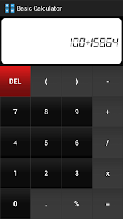 PalmCalc- Multiple Calculator- screenshot thumbnail