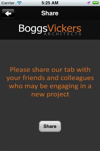 BoggsVickers Architects - screenshot