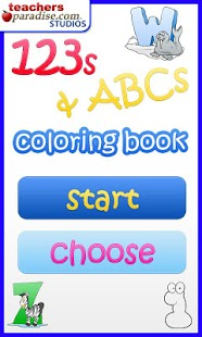 123s ABCs Kids Coloring Book - screenshot thumbnail