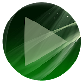 Poweramp Skin Sphere Green