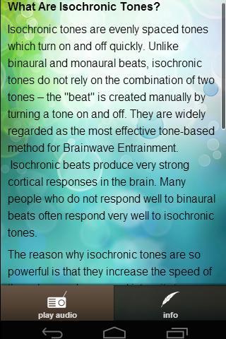 Brainwave De-stress