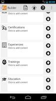 Screenshot of Resume Ready Lite