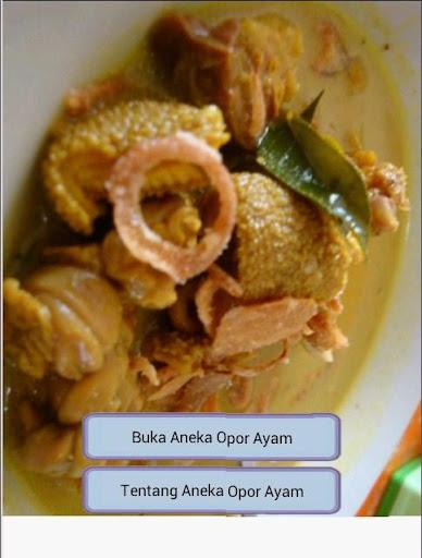Aneka Opor Ayam