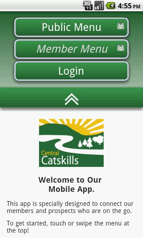 Central Catskill Chamber - NY- screenshot
