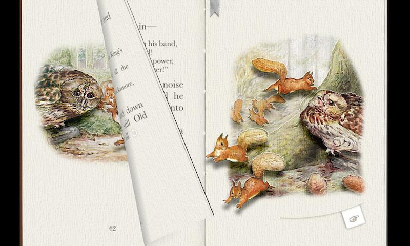 PopOut! The Tale of Squirrel Nutkin: A Pop-up Book- screenshot