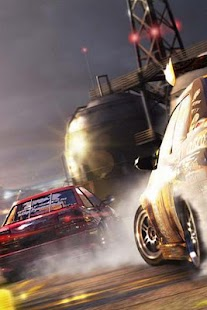 3D racing car wallpaper - screenshot thumbnail