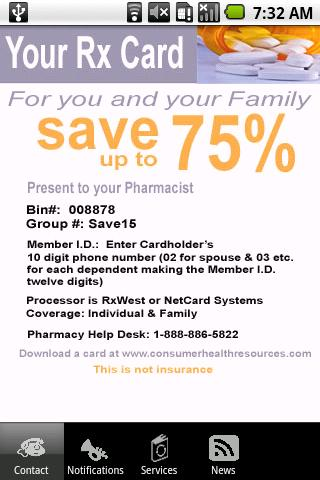Rx Savings! - screenshot