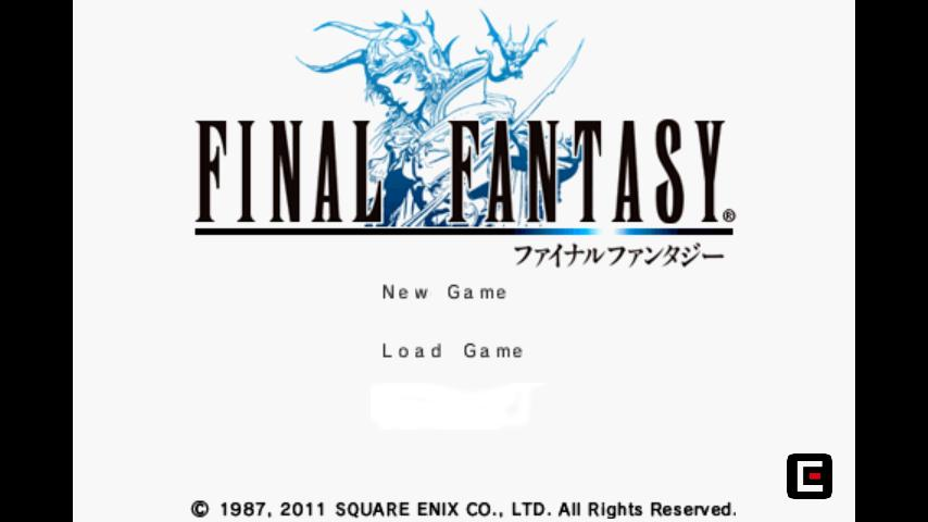 FINAL FANTASY - screenshot