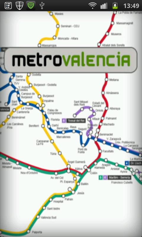 Metro Valencia - screenshot