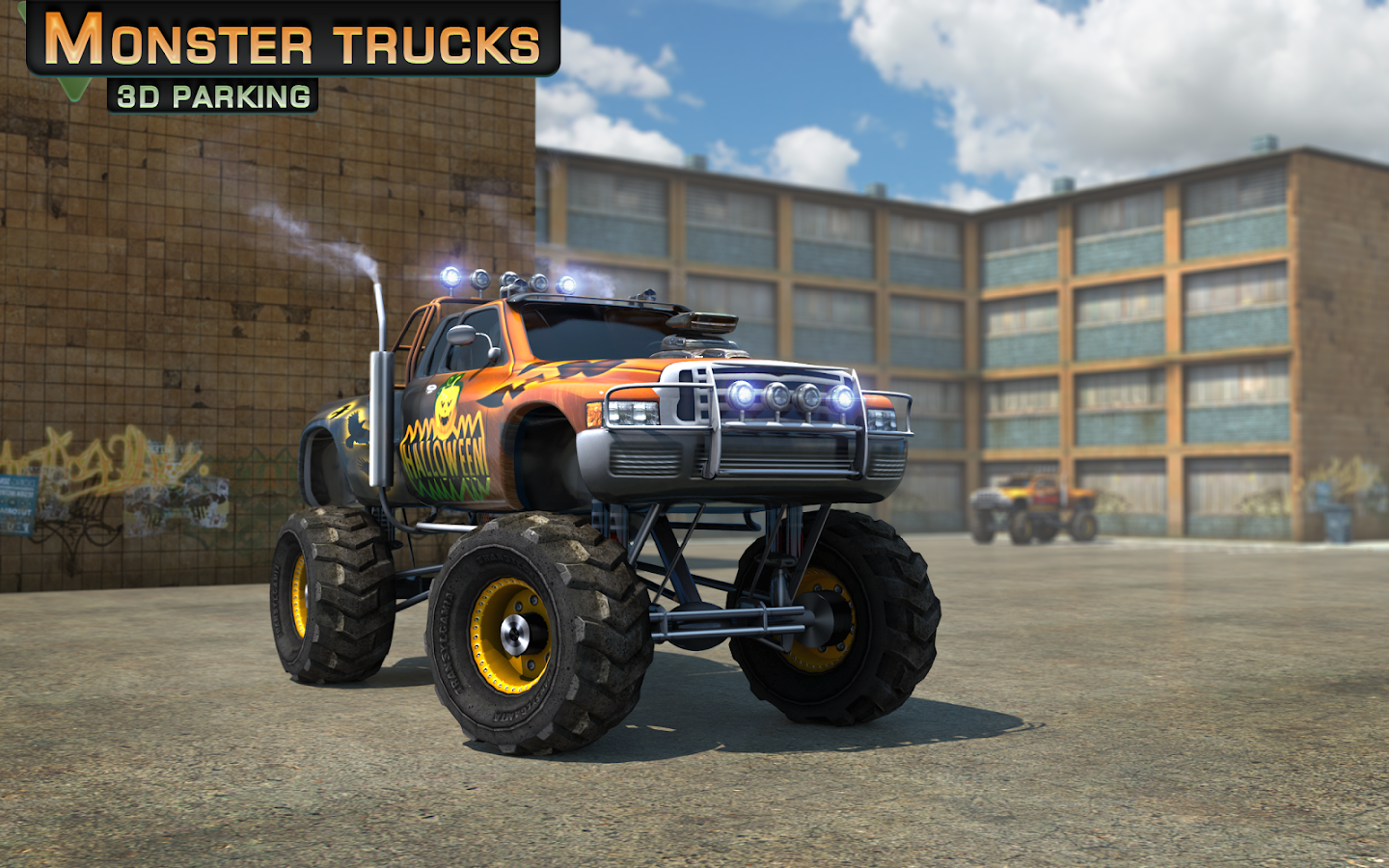 monster trucks 3d parking android apps on google play