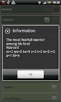 Screenshot of An Armylist Creation tool