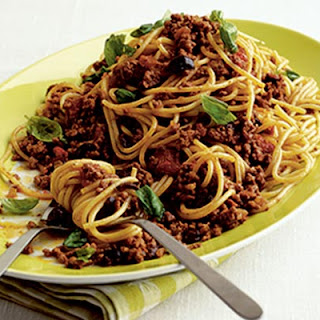 Bolognese With A Difference.