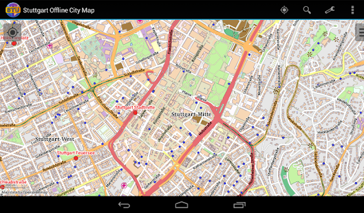 Stuttgart Offline City Map- screenshot thumbnail